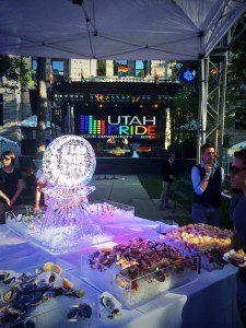 2014 Utah Pride Festival gounds