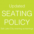 In an effort to provide a better movie-going experience and ensure the safety of all patrons, Utah Film Center staff and our venue partners have developed and improved seating policies […]