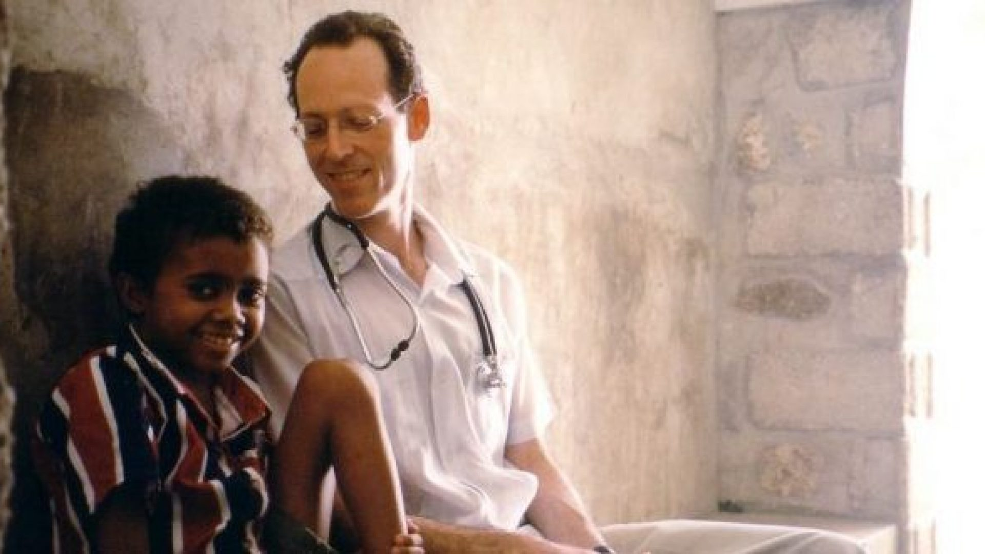 Dr. Paul Farmer appears in Bending the Arc by Kief Davidson and Pedro Kos, an official selection of the Documentary Premieres program at the 2017 Sundance Film Festival. Courtesy of Sundance Institute.