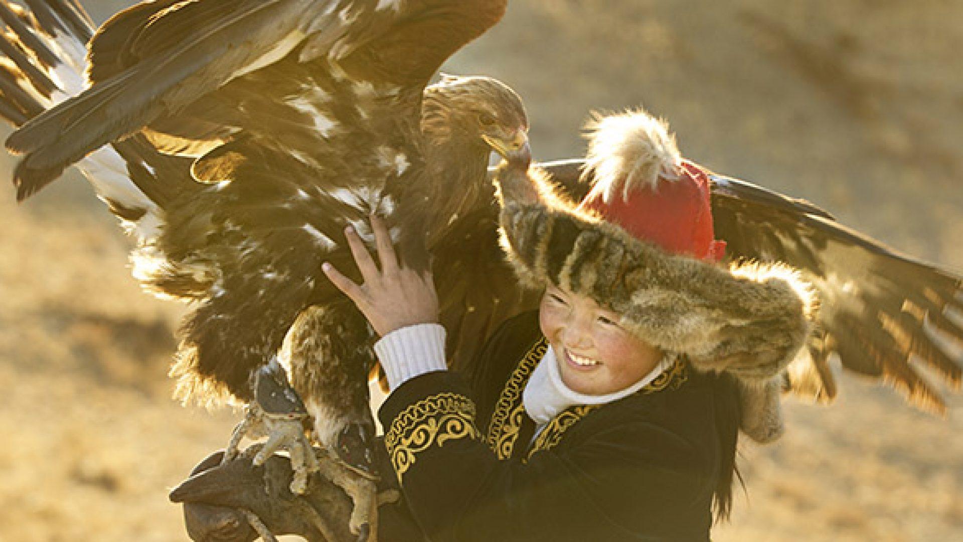 The Eagle Huntress film still