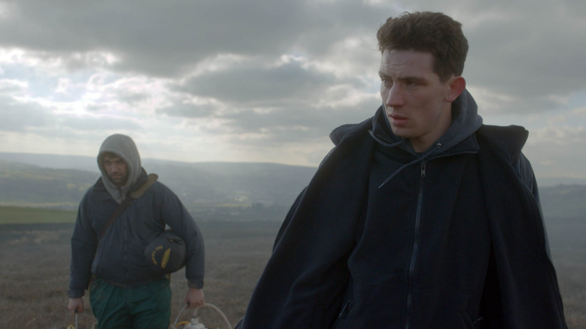 Josh O'Connor and Alec Secareanu appear in God's Own Country by Francis Lee, an official selection of the World Cinema Dramatic Competition at the 2017 Sundance Film Festival. Courtesy of Sundance Institute.